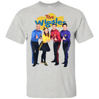 The Wiggles Band Australia Funny T-Shirt 2019 Vintage Tee MEN Black Gifts