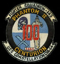 USN Fighter Squadron 143 F-4 Phantom USS Constellation 1963 Patch S-12