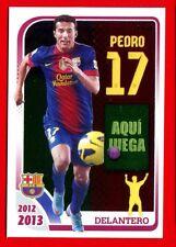 FC BARCELONA 2012-2013 Panini - Figurina-Sticker n. 153 - PEDRO -New
