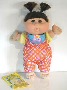"""Cabbage Patch Kids Girl Doll Maddy Skye 13"""" Play Along Jakks 2012 Certificate"""