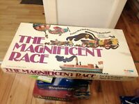 THE MAGNIFICENT RACE 1975 Vintage Board Game Palitoy 100% Complete DASTARDLY DAN