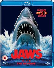 Jaws Box Set (Jaws 2, Jaws 3 and Jaws: The Revenge) [Blu-ray] [1978] [DVD]