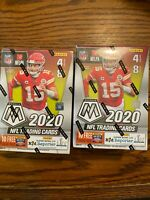 Lot of 2 - 2020 Panini Mosaic NFL Football Blaster Box - Two Blasters - In Hand
