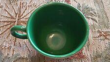 VINTAGE FIESTA MEDIUM GREEN COFFEE CUP EXCELLENT CONDITION 1959-69