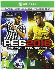 PES 2016   DAY ONE EDITION       --  NEUF  -----   pour X-BOX ONE