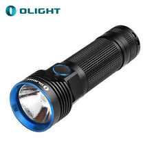 New Olight Flashlight 2500 Lumens R50 Seeker Rechargeable LED Torch w/ 26650