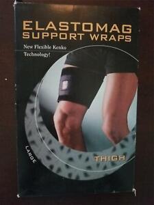 Nikken Elastomag Magnetic Support Wrap - Thigh 1694 large NEW
