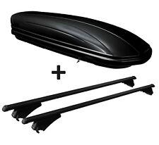 Dachbox MAA320L+Alu-Relingträger Quick aufl.Rel. für Audi A3 8PA Sportback 04-12