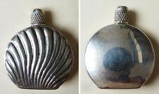 Ancien flacon tabatière en argent massif Sterling A.M.P. silver box
