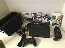 Sony Play Station 2 SCPH-70002 Analog Controller Accessories Games Case