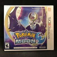 Pokemon Moon (Nintendo 3DS) BRAND NEW / US Version