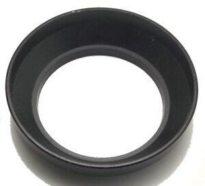 Vintage 49mm Light Weight Plastic Screw On Lens Shade Hood Lightly Used