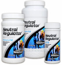 SEACHEM NEUTRAL REGULATOR pH 7.0 FROM HIGH/LOW ACID ALKALI AQUARIUM FISH TANK