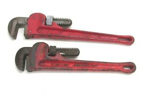 """RIDGID TOOLS 12"""" STEEL PIPE WRENCH & FULLER 14"""" STEEL PIPE WRENCH"""