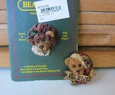 Boyds Vintage Pins-Bailey Bonnet 1994 & Edmund Believe 1996