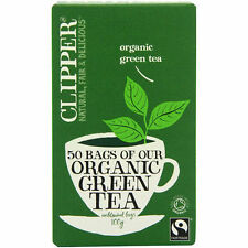 Clipper Green Tea and Making