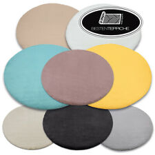 Modern Thick Soft Rugs Bunny Circle 8 Colours Imitation From Kanninchenpelz