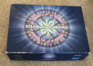 ITV Who Wants To Be A Millionaire Game Complete With Instructions Rules 2000
