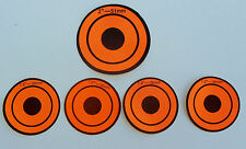Replacement stickers for Metal Resetting Shooting Target 2 sets