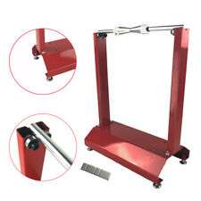 Motorcycle Portable Stainless Steel Wheel Balancer Tire Stand Street Stand Red
