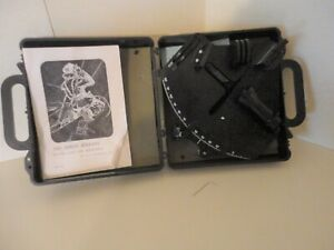EBBCO MARINE SEXTANT  WITH CASE AND MANUAL