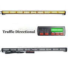 """39"""" 36W LED Warning Emergency Traffic Adviser Directional Strobe Light Bar Amber"""