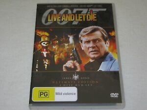 Live And Let Die - James Bond - 2 Disc - Brand New & Sealed - Region 4 - DVD