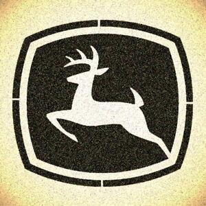 Deer Stencil Mylar Deere Stencils