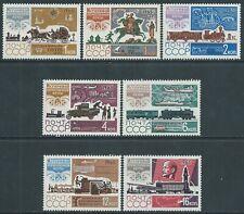 1965 RUSSIA STORIA DEL SERVIZIO POSTALE MNH ** - UR5-8
