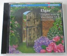 NEW Elgar Complete Music for Wind Quintet Vol 1 Athena