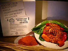 12lb RED MIX CHICKEN RUB,FOR RESTAURANT USE GRILL,BBQ CHICKEN/MEAT RUB SEASONING