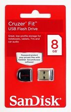SanDisk Cruzer FIT 8GB 8G USB Flash Pen Drive Memory Stick Key Thumb Disk