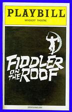 Playbill + Fiddler on the Roof + Andrea Martin , Harvey Fierstein , Nancy Opel