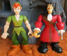 New ListingDisney Adventures 1999 Peter Pan & Captain Hook Action Figures