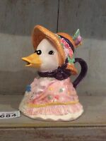 MOTHER GOOSE CERAMIC ORNAMENTAL TEAPOT