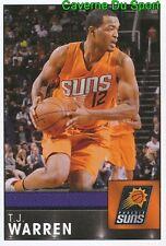 348 T.J. WARREN USA PHOENIX SUNS STICKER NBA BASKETBALL 2017 PANINI