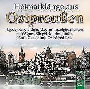 Heimatklänge aus Ostpreußen von Ruth Geede, Marion Lindt und Agnes Miegel (2009)