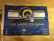 NFL LA Rams Flags - From Wembley Game x2