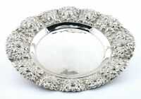 ONE VINTAGE LATE 1800 Early 1900 .800 STERLING SILVER FLORAL BOWL DISH AS44
