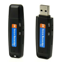 U Disk Spy Voice Audio Recorder MP3 Portable Micro Dictaphone Sound Recording