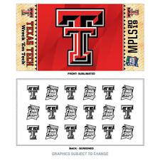 2019 NCAA Men's Final Four Texas Tech Red Raiders Minneapolis Locker Room Towel