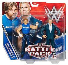 WWE SHANE MCMAHON DEAN AMBROSE WWF BATTLE PACK SERIES 46 MATTEL WRESTLING FIGURE
