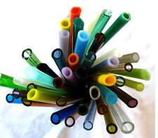 Devardi Glass Soft Glass COE 104 Tubing Lampwork 12 Assorted Tubes