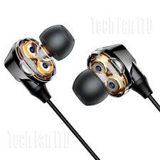 Double Speaker Wireless Bluetooth Headphones Earphones High Bass Sports Neckband