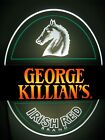 VTG 1983 COOR'S KILLIAN'S IRISH BEER HORSEHEAD EDGE LIGHT MOTION BAR PUB SIGN A+