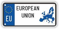 EU European Union Sticker License Plate Parking Bumper Home Fridge Tool Box Car