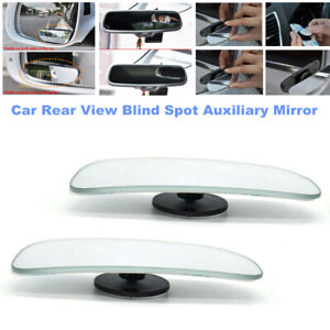 2pcs Car Auto 360° Rotates Wide Angle Convex Rear Side View Blind Spot Mirrors