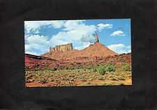 "Postcard -View of Catle Rock, ""Priest & Nuns"", Castle Valley, Utah, USA"