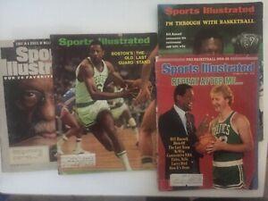 4 Bill Russell, Boston Celtics, Sports Illustrated Magaqzines. 1969-99