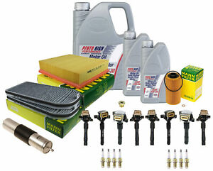 OEM Complete Tune-Up Kit with Oil For BMW E38 740i 740iL 4.4L V8
